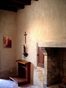 Chartreuse du Val-de-Bénédiction Cellule d'un religieux