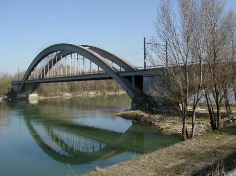 Viaduc de la Méditerranée, Chasse-sur-Rhône
