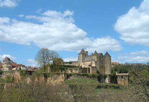 Salignac-Eyvigues - Château de Salignac - Ensemble