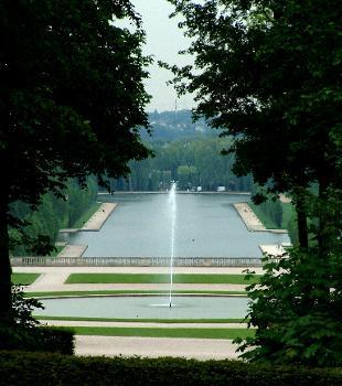 Château de Sceaux Parc - Grand canal vu du petit château