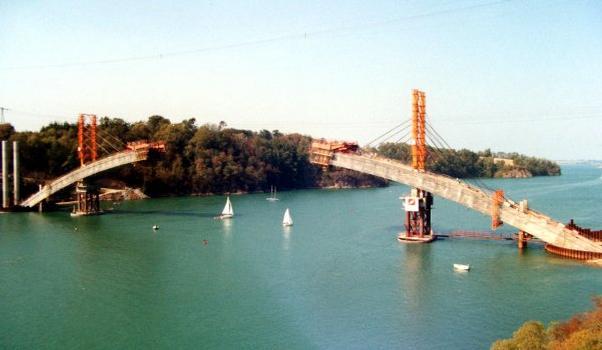 Pont Chateaubriand Ensemble en cours de construction
