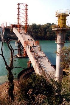 Pont ChateaubriandFléau rive droite - Ensemble