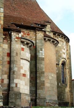 Châteaumeillant - Eglise Saint-Genès - Absidioles