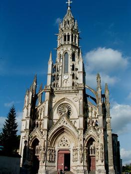 Châteauneuf-sur-Cher - Basilique Notre-Dame-des-Enfants - Façade occidentale