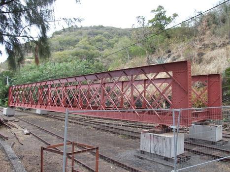 Chemin de fer Réunionnais - Pont de la ravine de la Grande-Chaloupe