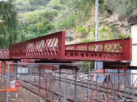 Chemin de fer Réunionnais - Pont de la ravine Tamarins