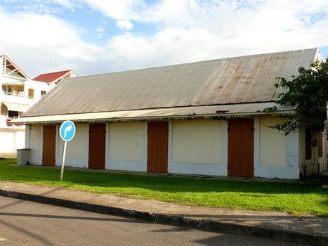 La Réunion - Ancienne gare de Sainte-Suzanne, côté océan