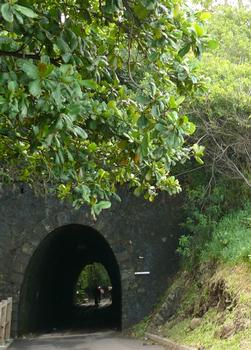 Chemin de fer de La Réunion - Tunnel de Bel-Air côté centre ville