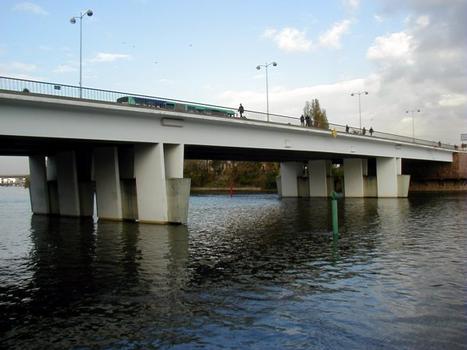 Pont de Choisy-le-Roi. Travée centrale