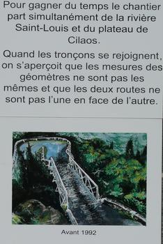 Cilaos - RN5 - Pont de la Boucle
