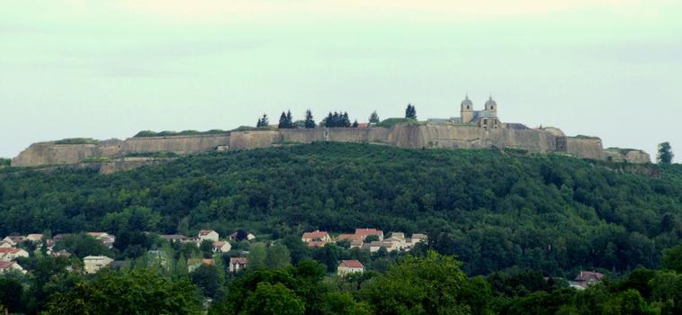 Citadelle de Montmédy - Vue d'ensemble côté est