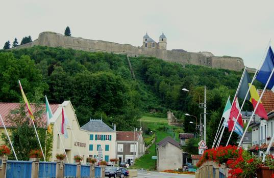 Citadelle de Montmédy - Vue de la ville basse