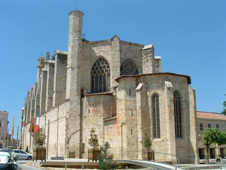 Cathédrale Saint-Pierre, Condom.Chevet