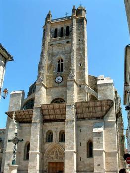Cathédrale Saint-Pierre, Condom.Façade occidentale