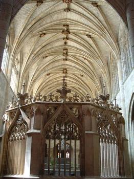 Cathédrale Saint-Pierre, Condom.Nef et clôture du choeur
