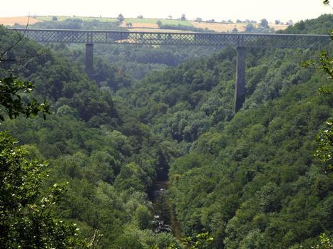 Evaux-les-Bains - Viaduc de la Tardes
