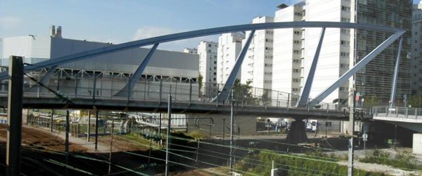 Pont Léonard de Vinci in La Défense