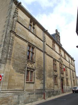 Tribunal d'instance de Melle - Façade sur rue