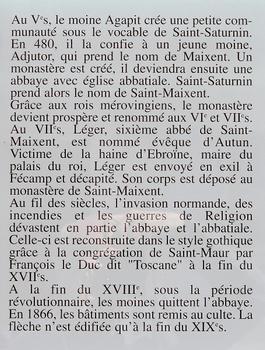 Saint-Maixent-l'Ecole - Eglise Saint-Maixent (ancienne abbaye) - Notice