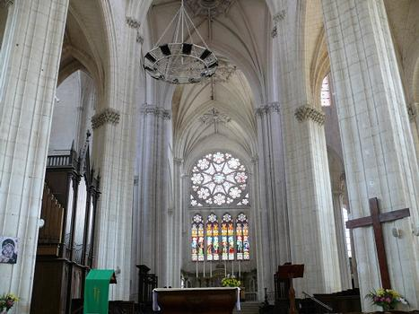 Saint-Maixent-l'Ecole - Eglise Saint-Maixent (ancienne abbaye) - Choeur