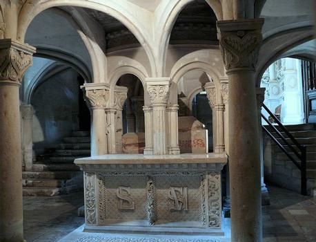 Saint-Maixent-l'Ecole - Eglise Saint-Maixent - Crypte Saint-Maixent Saint-Léger