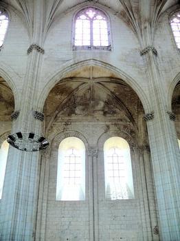 Saint-Maixent-l'Ecole - Eglise Saint-Maixent (ancienne abbaye) - Nef: élévation