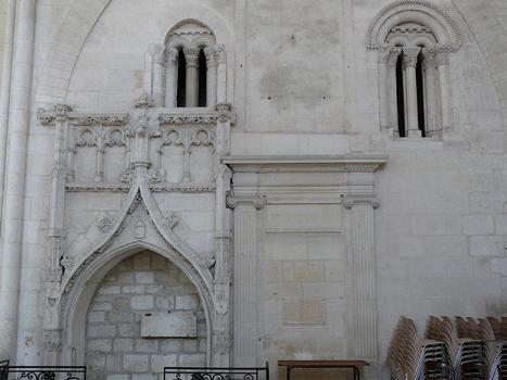 Saint-Maixent-l'Ecole - Eglise Saint-Maixent (ancienne abbaye) - Bras sud du transept
