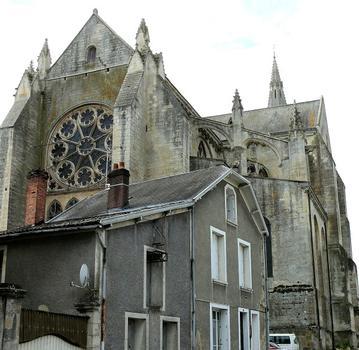 Saint-Maixent-l'Ecole - Eglise Saint-Maixent (ancienne abbtiale) - Chevet