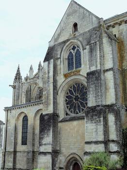 Saint-Maixent-l'Ecole - Eglise Saint-Maixent (ancienne abbaye) - Bras nord du transept