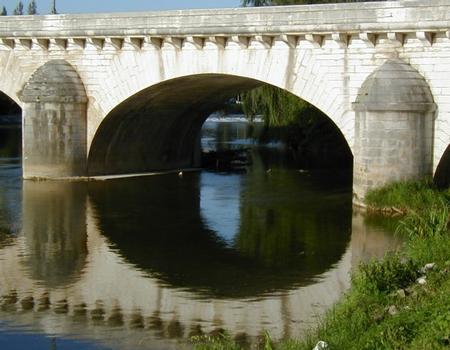 Grand Pont à Dôle Une travée