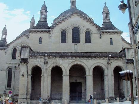 Périgueux - Cathédrale Saint-Front - Portail nord