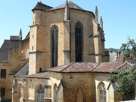 Sarlat-la-Canéda - Cathédrale Saint-Sacerdos - Chevet