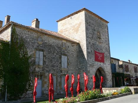 Stadtmauer von Monpazier