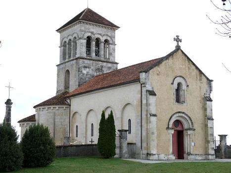Montagrier - Eglise Sainte-Madeleine