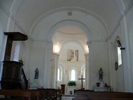 Montagrier - Eglise Sainte-Madeleine - Nef