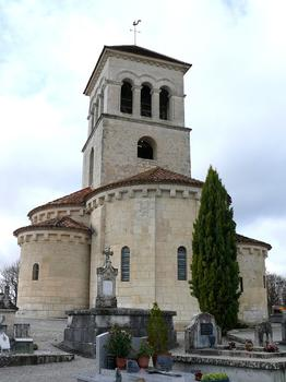 Montagrier - Eglise Sainte-Madeleine - Chevet