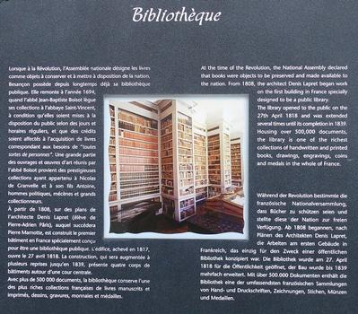 Besançon - Bibliothèque municipale