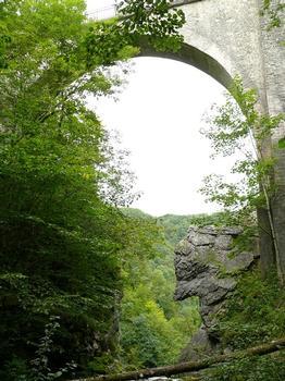 Pont du Diable de Sainte-Anne
