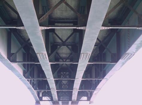 Bridge across the deviation canal, Ancône