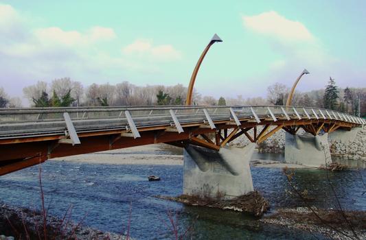 Crest - Pont de bois - Ensemble