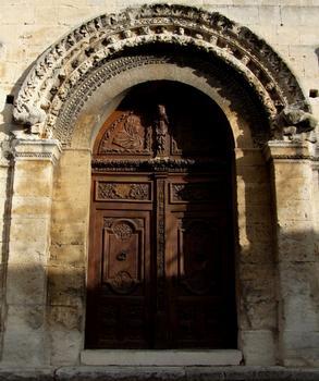Saint-Paul-Trois-Châteaux - Ancienne cathédrale Notre-Dame-et-Saint-Paul - Façade occidentale - Détail