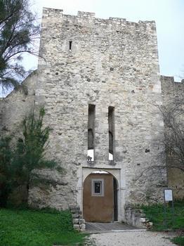 Montélimar - Château des Adhémar - Porte dite du «secours» (16ème siècle)