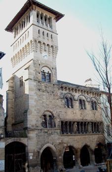 Former city hall at Saint-Antonin-Noble-Val