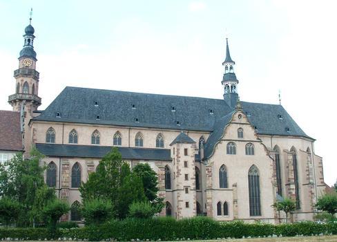 Molsheim - Eglise Saint-Geoges et de la Trinité (ancienne église des Jésuites) - Façade côté Sud