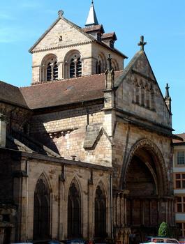 Epinal - Basilique Saint-Maurice - Portail