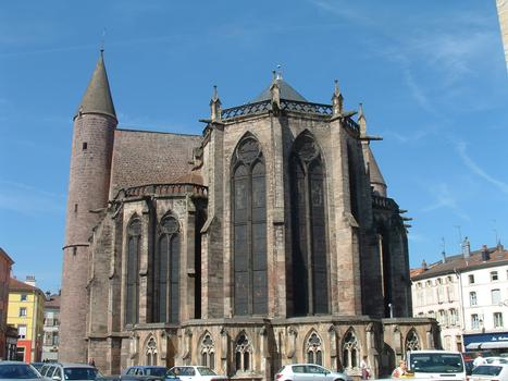 Epinal - Basilique Saint-Maurice - Chevet