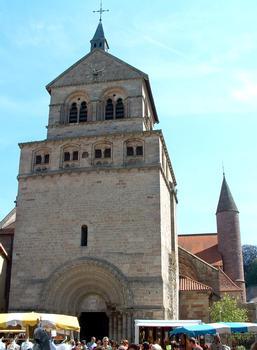Epinal - Basilique Saint-Maurice - Tour occidentale côté ouest