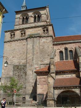 Epinal - Basilique Saint-Maurice - Tour occidentale côté sud