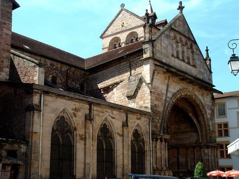 Epinal - Basilique Saint-Maurice - Façade nord