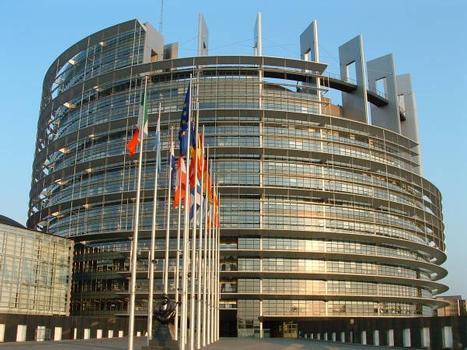 Europäisches Parlament, Straßburg.